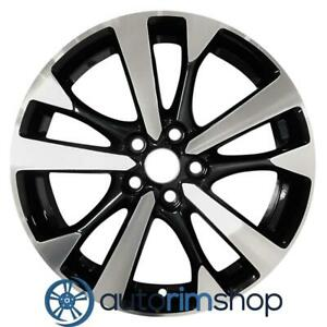 New 18 Replacement Wheel Rim For Nissan Altima 2016 2018 Machined Black