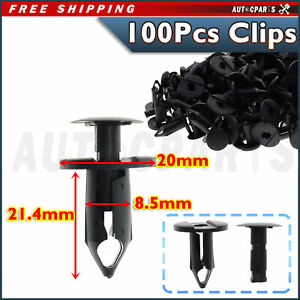 100 Clips Automotive Push Pins Retainers Assortment For Gm Ford For Toyota Honda Fits 2004 Saturn Ion