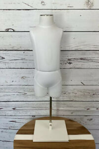 Dress Form Mannequin Child Form 26 Tall 1 4 Years Kids Retail Display W Stand