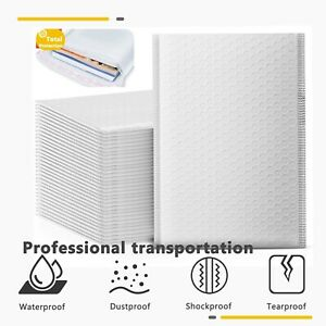 25 50 100 200 Kraft Bubble Mailers Padded Envelopes Shipping Packaging Bags Seal