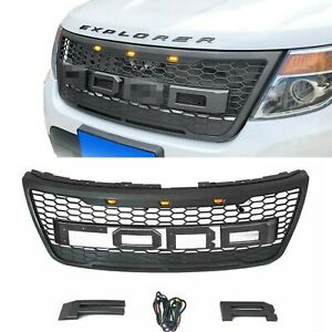 Replacement Grille Ford Explorer 2012 2013 2014 2015 All Model Grill W Letters
