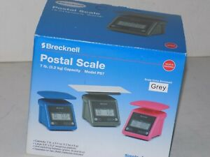 Brecknell Ps 7 Digital Postal Scale Gray ps7