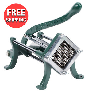 Commercial Kitchen Slicer 1 4 Cast Iron French Fry Potato Manual Press Cutter