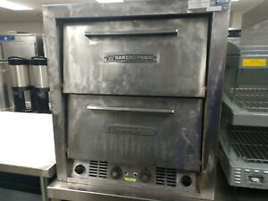 Commercial Electric Pizza Pretzel Oven Bakers Pride P44s Used S n 6284