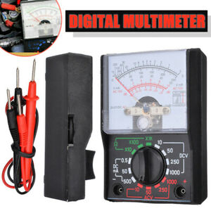 Electrical Analogue Multimeter Ac Dc Volts Ohm Circuit Multi Tester Meter El