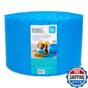 Bubble Cushioning Wrap Roll 12 Wide X 100 Ft Bubbles Packaging Moving Shipping