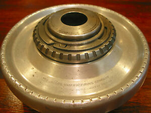 Jacobs Collet Chuck On 2 1 4 X 8 Lathe Mount Plate For Flexible Rubber Collets