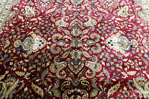 10x14 1960 S Mint Hand Knotted 400 Kpsi Vegetable Dye Wool Tabrizz Oriental Rug
