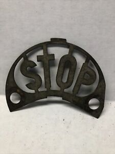1920s Ford Chevy Plymouth Stoplight Insert Original
