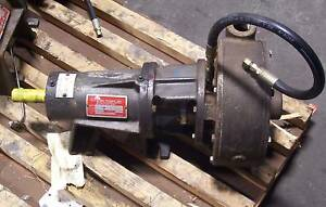 Gusher P1 25x1 5 9seh Stainless Centrifugal Pump 1 1 4 X 1 1 2 20 Gpm 70 Hd ft