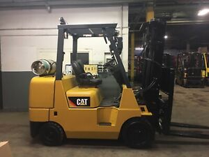2016 Cat 8000 Lb Forklift With Ss fp 2 Stage Mast 4200 Hours