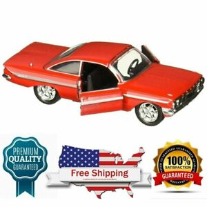 Diecast Model Car Fast Furious Doms 1961 Chevy Impala F8 143 Scale By Jada