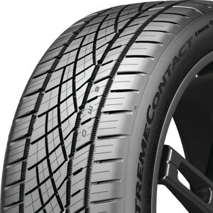 1 New 275 35zr19xl 100y Continental Extremecontact Dws06 Plus 275 35 19 Tire