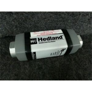 Hedland H600a 015 1 To 15 Gpm Variable Area Mechanical Flowmeter