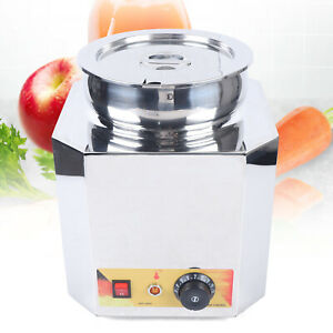 Commercial Cheese Chips Sauce Dispenser 6 L Warmer Kettle Pan Carnival King Food