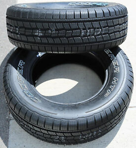 2 Tires Cooper Discoverer Htp Ii 265 70r17 115t As A S All Season