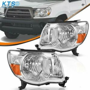 Headlights Headlamps For 2005 2011 Toyota Tacoma 05 11 Left Right Lights Lamps