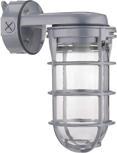Explosion Proof Style Wall Mount Fixture Cage Retro Industry Light Commercial
