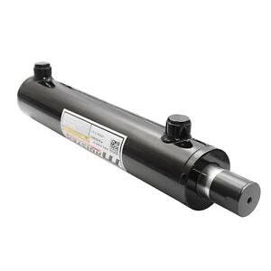 Universal Hydraulic Cylinder Welded Double Acting 2 Bore 12 Stroke Wuc 2x12