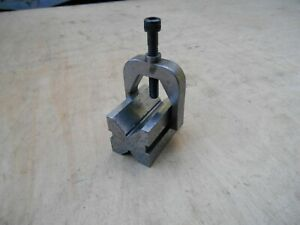 Machinists V block With Clamp 1 3 16 X 1 3 16 X 1 11 16