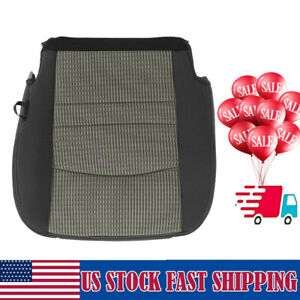 For Dodge Ram 1500 2500 3500 2009 2010 2011 2012 Driver Bottom Cloth Seat Cover