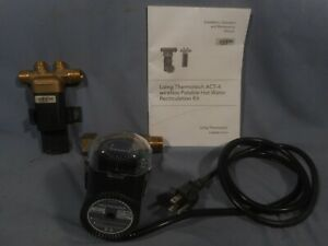 Laing Thermotech Solid Brass Act 4 Hot Water Recirculation Pump Wireless Valve