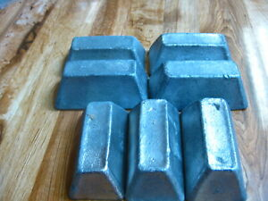 21 lb Soft Lead 7 Ingots for Casting Sinker weight Bullet Jig Mold FREE SHIPPING $48.00