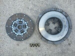 Massey Harris 44 Tractor Mh Engine Clutch Pressure Plate Assembly Nice