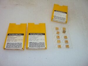 30 Kennametal Spgf322 Square Indexable Carbide Turning Insert Kc810 Spgr090308