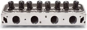 Edelbrock 60669 Complete Cylinder Head Performer Rpm 460 With Chamber Size 95cc