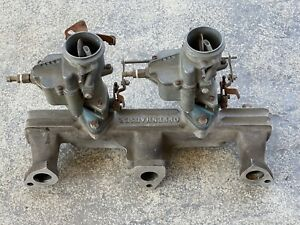 Vintage Offy Offenhauser Dodge Plymouth Flathead Intake Manifold 6 Cyl 218 230