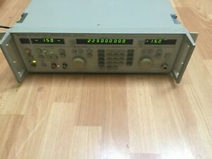 Anritsu Mg3631a Synthesized Signal Generator 10khz To 1 04ghz 1040mhz