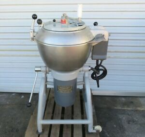 Hobart Vcm 40 Commercial Vertical Cutter Mixer Three Phase 440 Volts