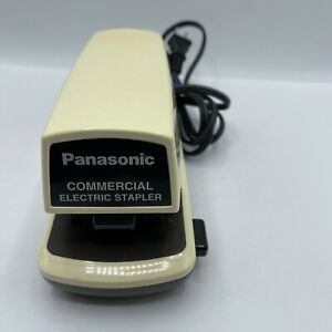 Vintage Commercial Electric Stapler Panasonic As 300nn Tested Works