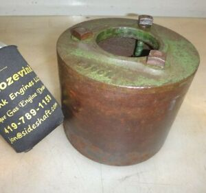 6 Cast Iron Pulley For 1 1 2hp Or 3hp John Deere E Hit And Miss Engine E100r