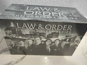Law and Order: The Complete Series Seasons 1 20 DVD DELUX BOX SET104 Disc USA $119.00
