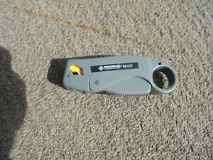 Greenlee Pa1257 Coaxial Cable Stripper Two step Greenlee