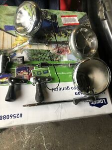 Ford Lincoln Mercury Unity Model At Six Spotlights Parts Or Restore Lot Of Three
