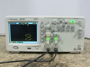 Tested Agilent Dso1022a 200mhz 2gsa s Two channel Digital Storage Oscilloscope