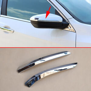 For 2016 21 Honda Sedan Coupe Civic 10th Rear View Side Mirror Cover Trim Parts