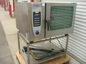 Rational Scc 62 Combi Oven 208v W Stand