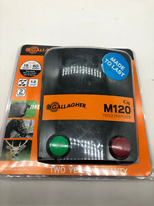 Gallagher M120 G330434 1 2 Joules 110v Electric Fence Charger Energizer 15 Miles