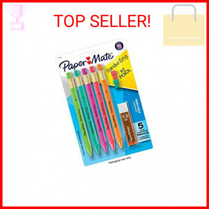 Paper Mate Handwriting Triangular Mechanical Pencil Set With Lead Eraser R