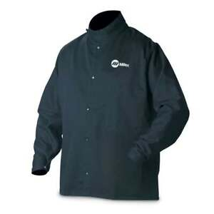 Miller 244751 Classic Cloth Welding Jacket Large
