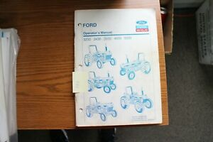 Ford Tractor 3230 3430 3930 4630 5030 Operator s Manual