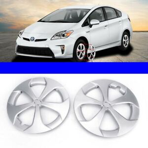 Premium Quality 15 Silver Hubcapswheel Covers Fits 2012 2015 Toyota Prius New