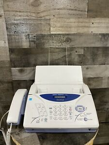 Brother Intellifax 1270e Fax Phone Copier Machine Fax With New Cartridge Pc201