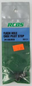 RCBS Flash Hole Deburring Tool Case Pilot Stop Choose Your Size NEW in Package $6.99
