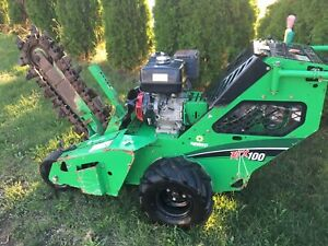 2015 Vermeer Rtx100 Trencher 216 Hrs Free Shipping