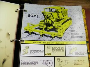Rome Disc Plowing Harrows Catalog Flyers Early 1960 s